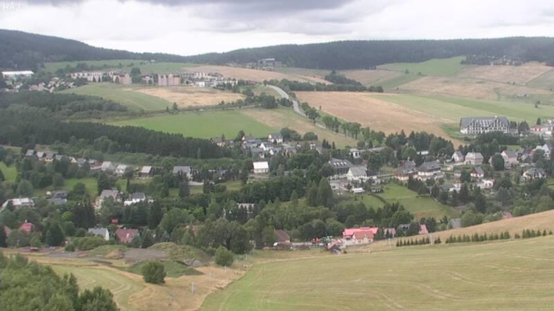 Webová kamera směr Háj - Unterwiesenthal - Loučná pod Klínovcem