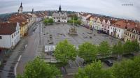 Snímek náměstí zwebové kamery