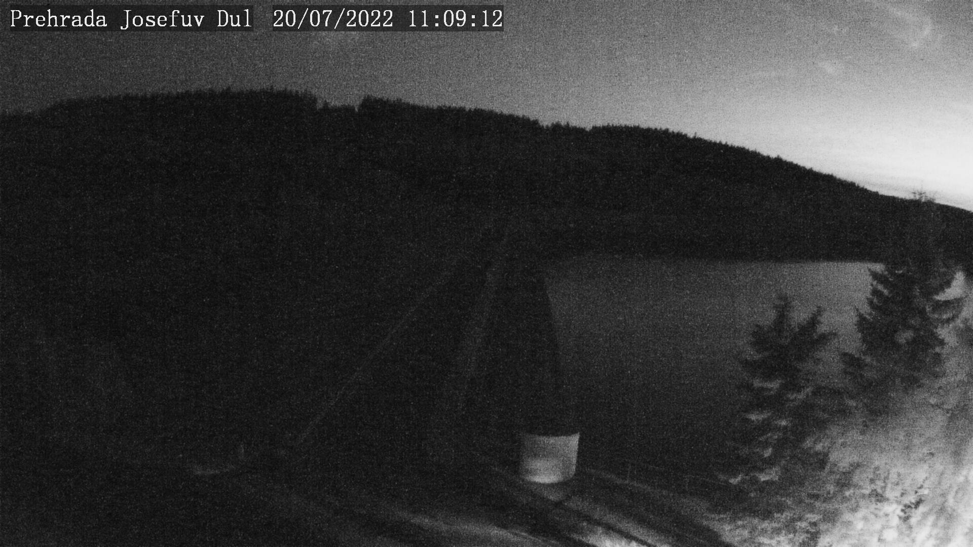 Webcam - Wassertalsperre Josefův Důl