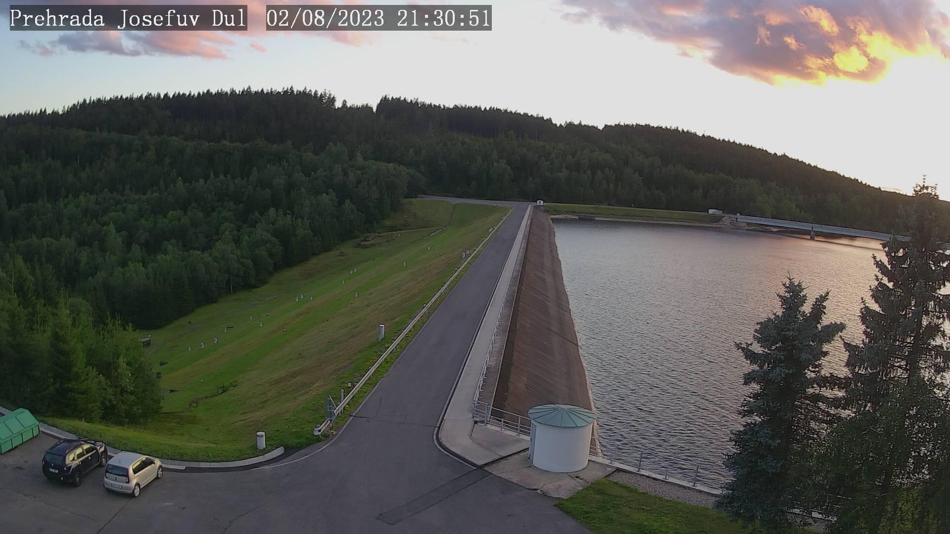 Webkamera - Přehrada Josefův Důl
